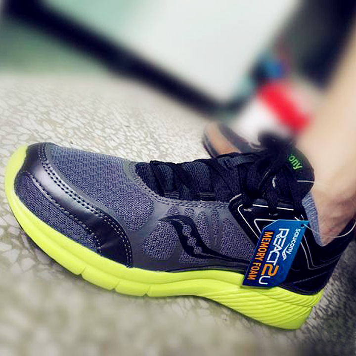<font color='red'>索康尼</font><font color='red'>Saucony</font> Grid Velocity 男跑鞋-首次使用惠惠一键海淘